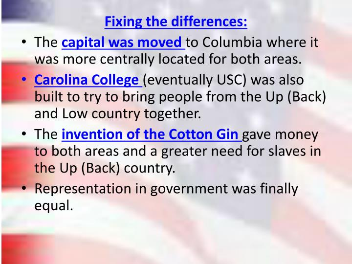 Fixing the differences: