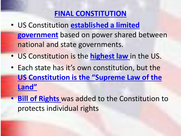 FINAL CONSTITUTION