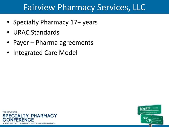 Fairview Pharmacy Services, LLC