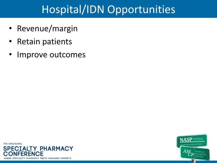 Hospital/IDN Opportunities