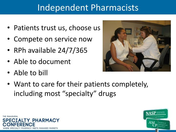 Independent Pharmacists