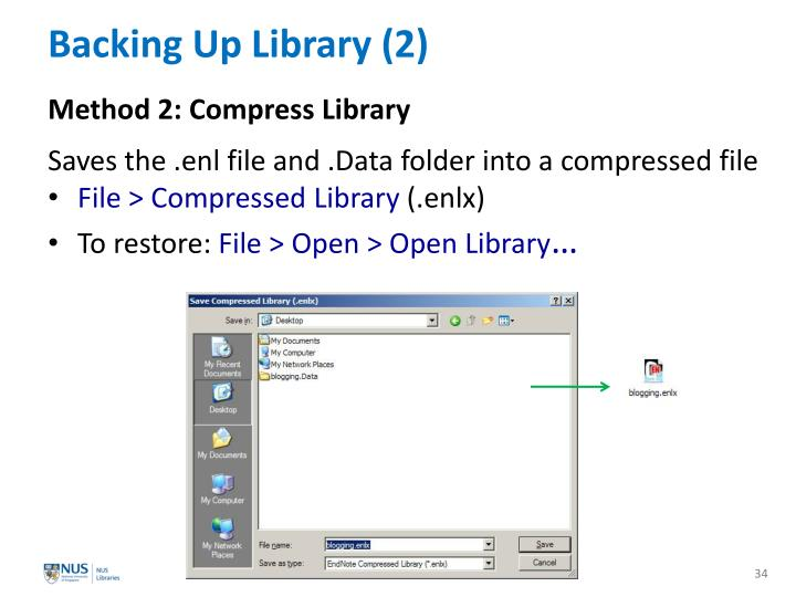 Backing Up Library (2)