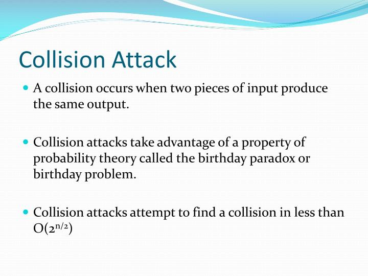 Collision Attack