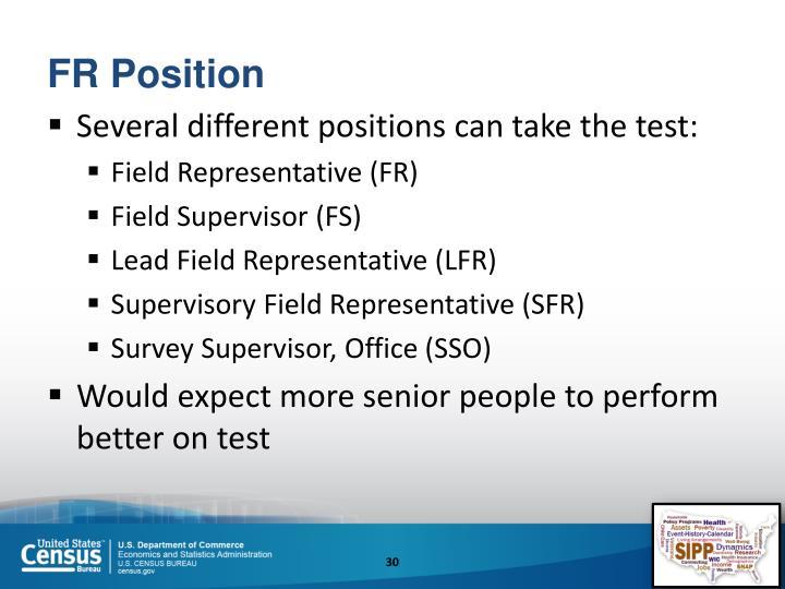 FR Position