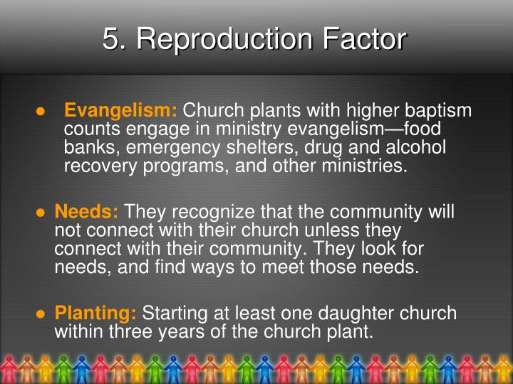 5. Reproduction Factor