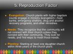 5 reproduction factor