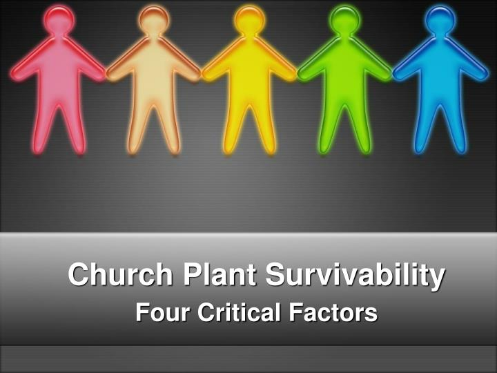 Church Plant Survivability
