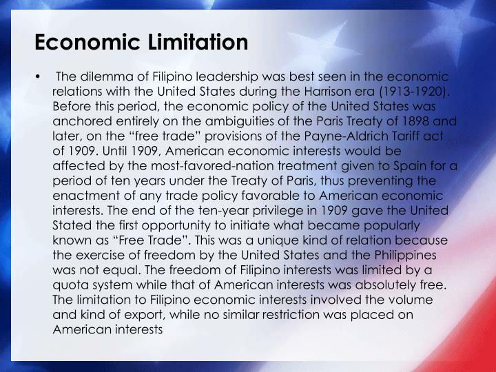Economic Limitation