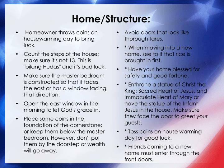 Home/Structure:
