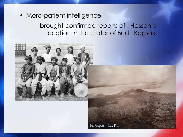 Moro-patient intelligence