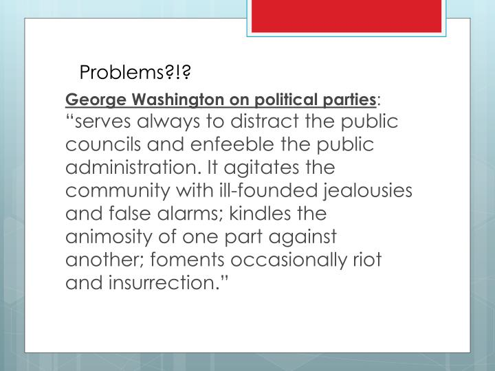 Problems?!?