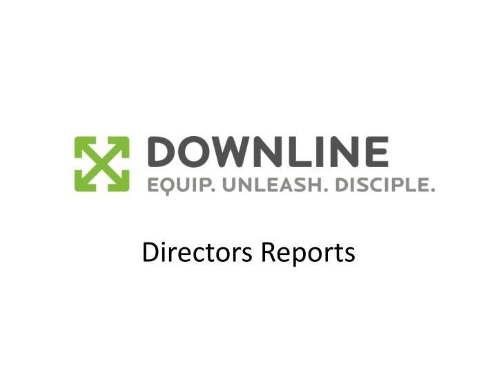 Directors Reports