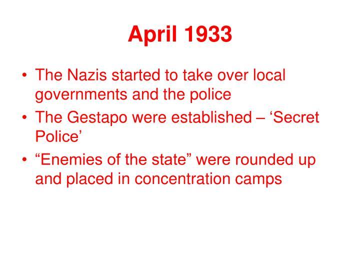 April 1933
