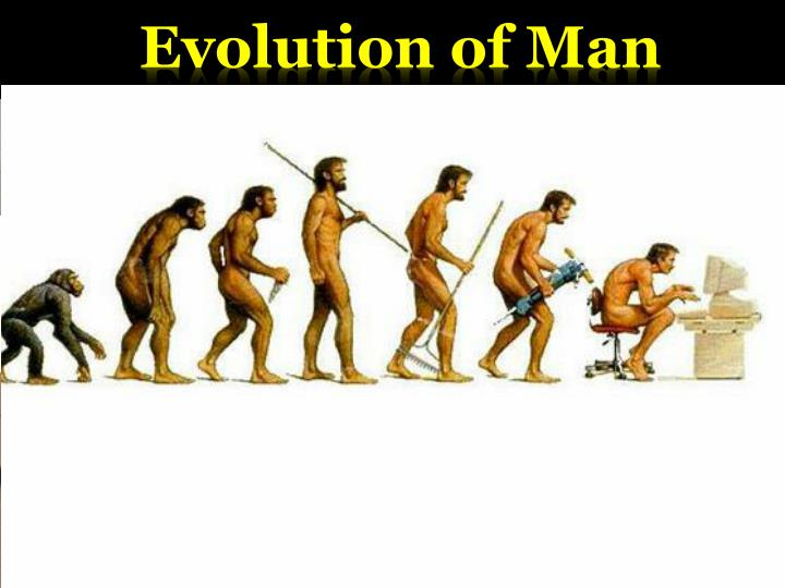 UK – Evolution of man