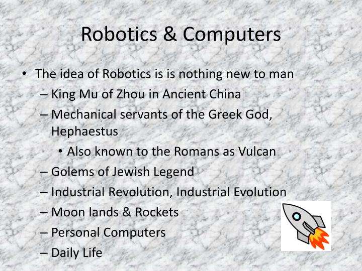 Robotics computers