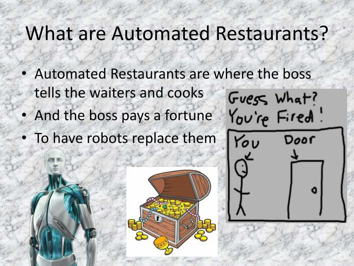 What are Automated Restaurants?