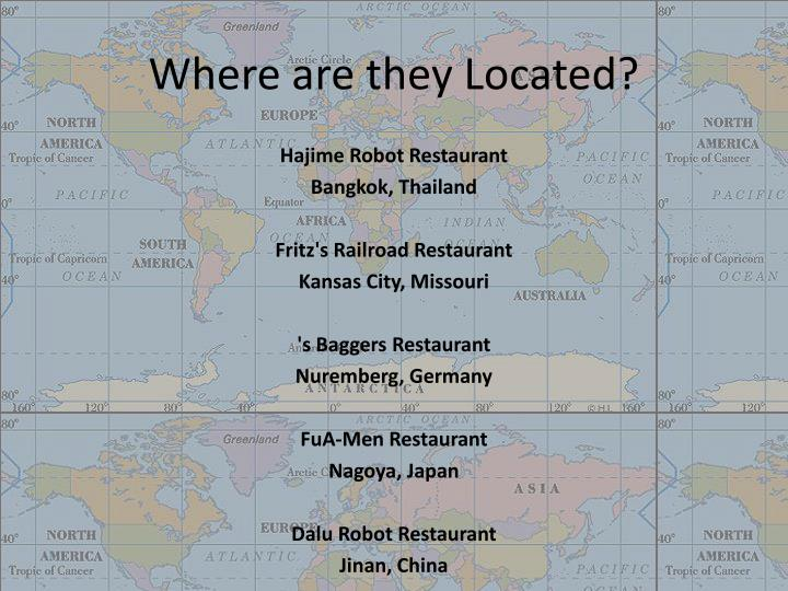 Where are they Located?