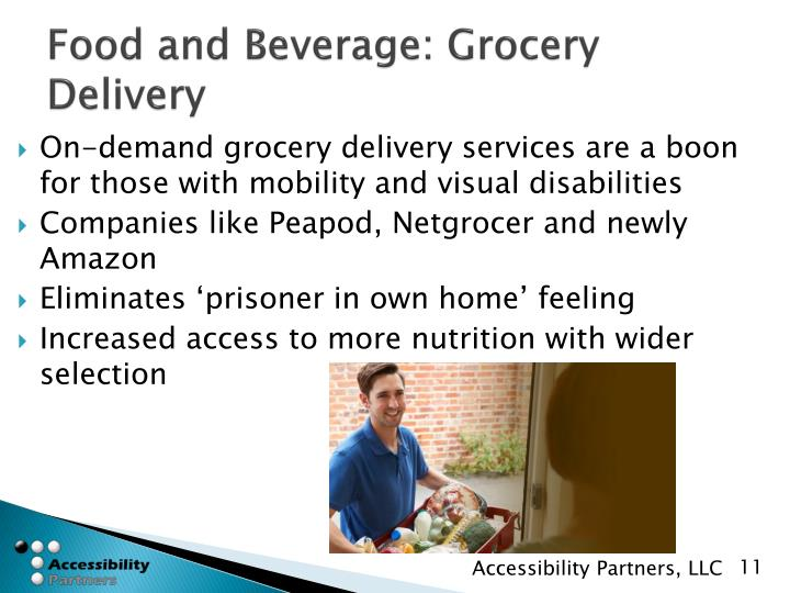Food and Beverage: Grocery Delivery