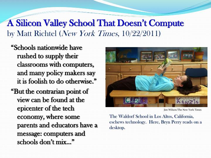 A Silicon Valley School