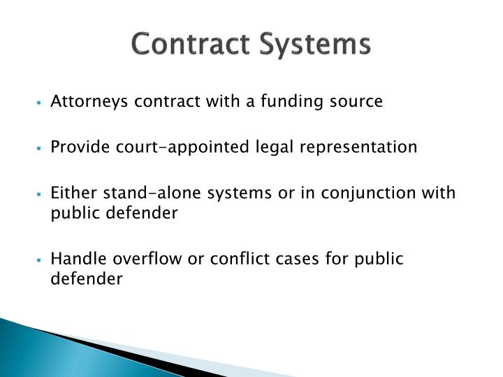 Contract Systems