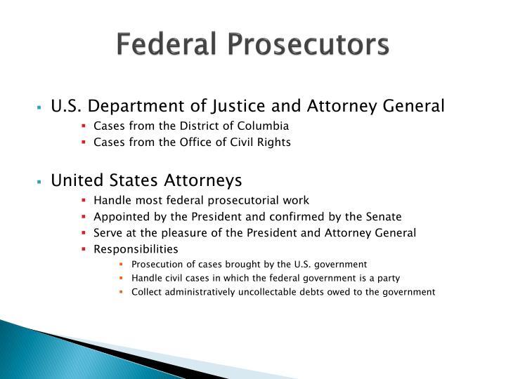 Federal Prosecutors