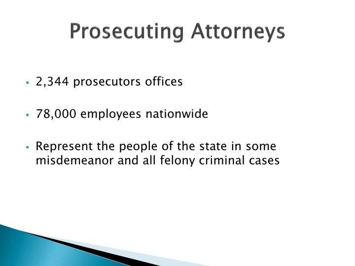 Prosecuting Attorneys
