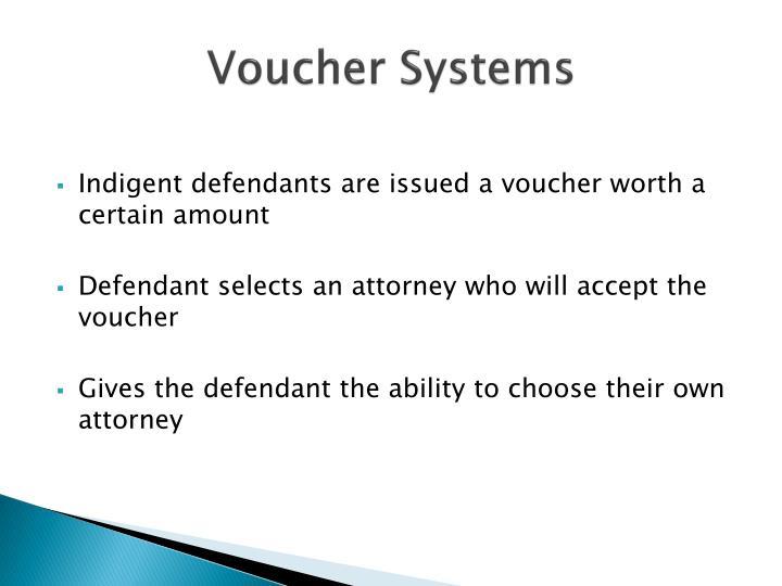 Voucher Systems