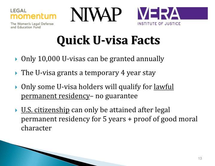 Quick U-visa Facts