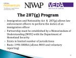 the 287 g program