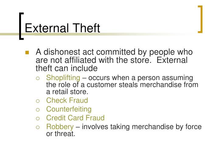 External Theft