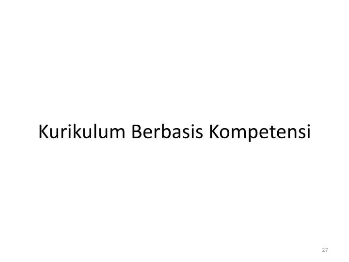 Kurikulum