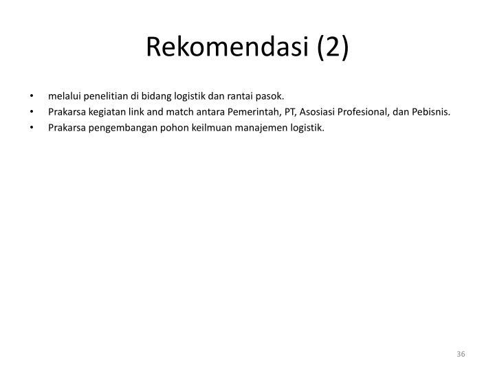 Rekomendasi