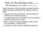 prob 4 2 the fatal bus crash pp 253 56 cfe procedure u s v zolin s ct 1989 p 255 n 56