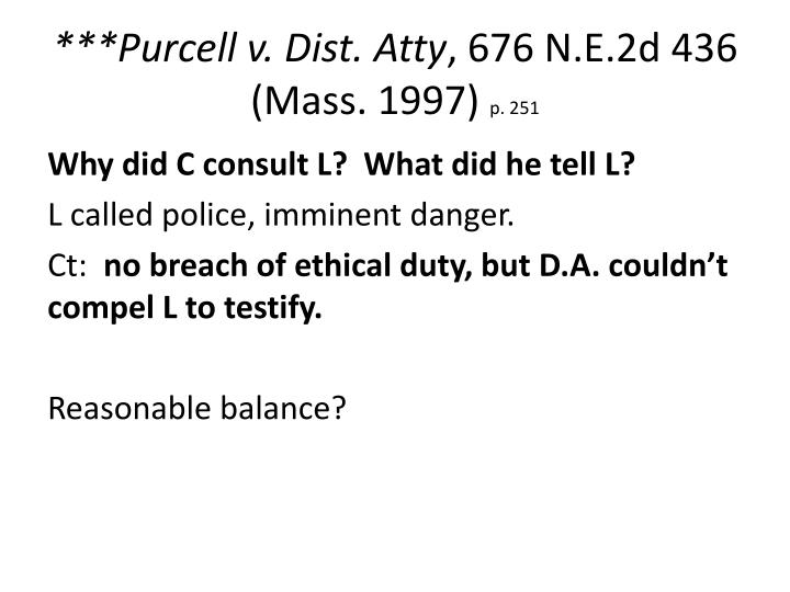 ***Purcell v. Dist.