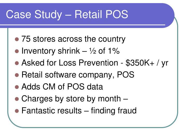 Case Study – Retail POS