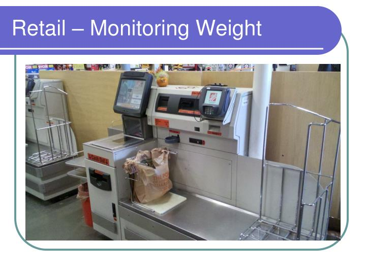 Retail – Monitoring Weight