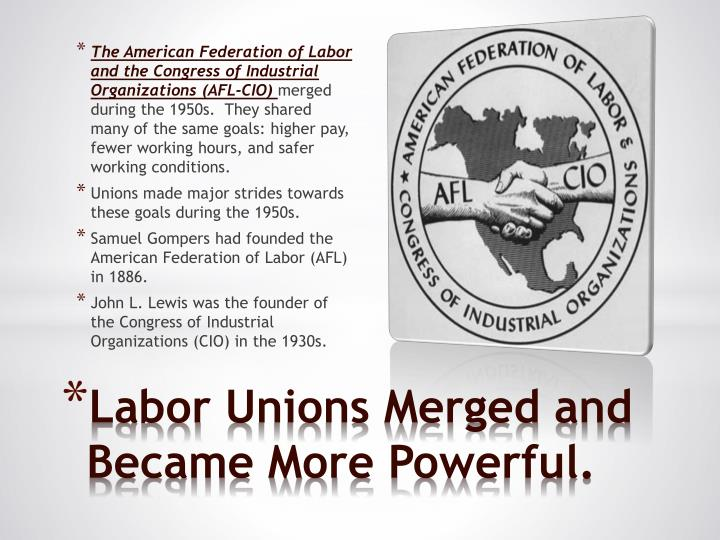 The American Federation of Labor and the Congress of Industrial Organizations (AFL-CIO)