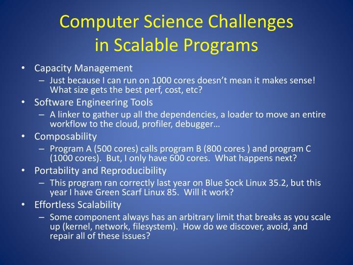 Computer Science Challenges