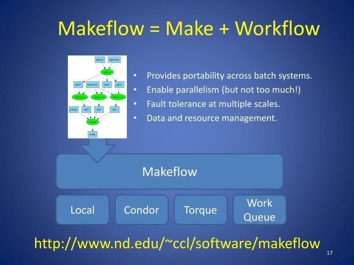 Makeflow
