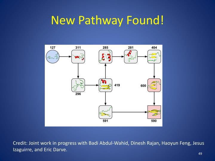 New Pathway Found!