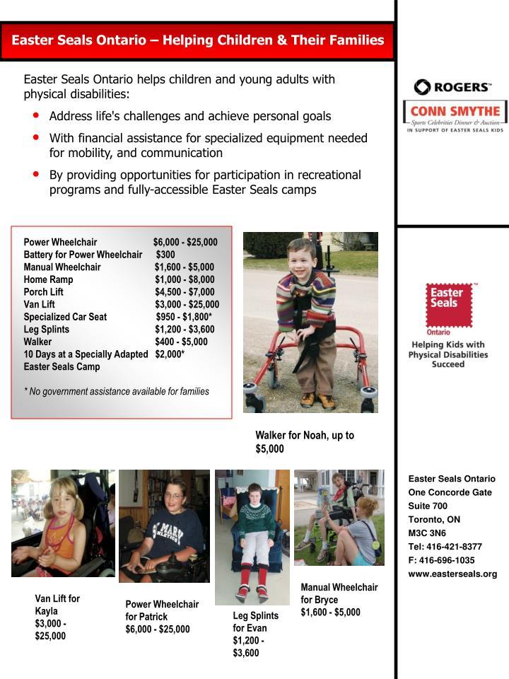Power Wheelchair                        $6,000 - $25,000