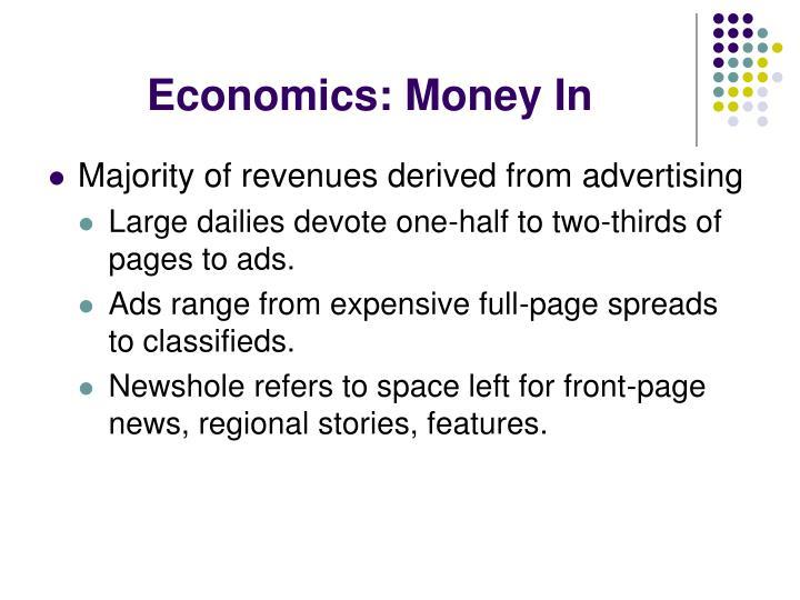 Economics: Money In