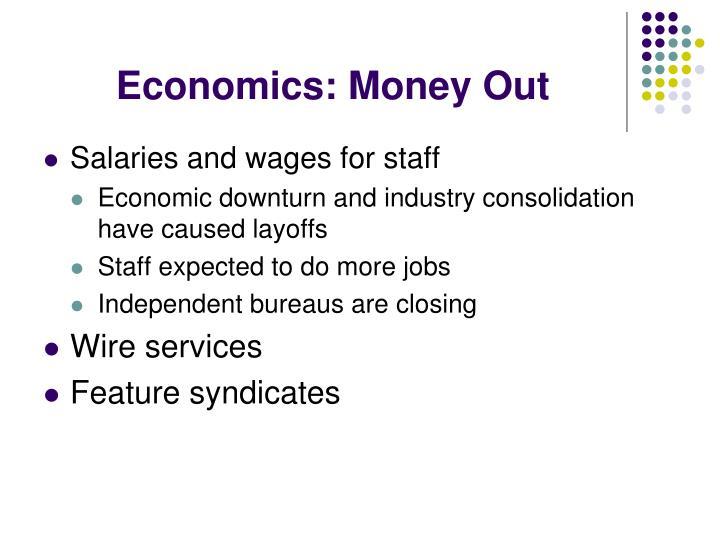 Economics: Money Out