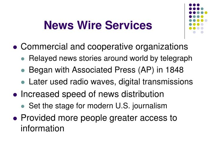 News Wire Services