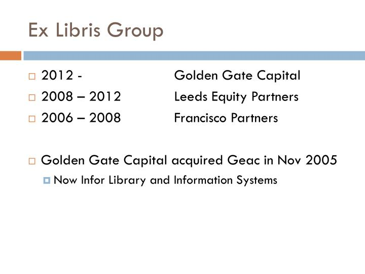 Ex Libris Group