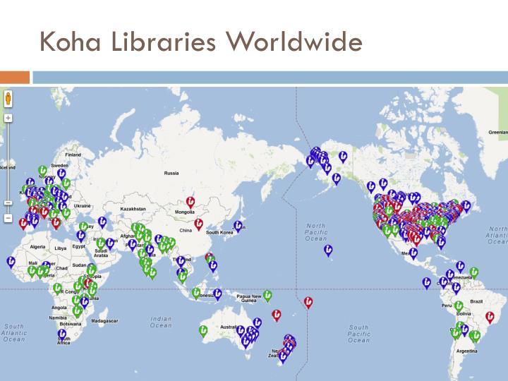 Koha Libraries Worldwide