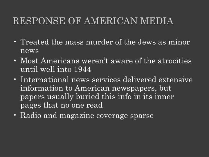 Response of American Media