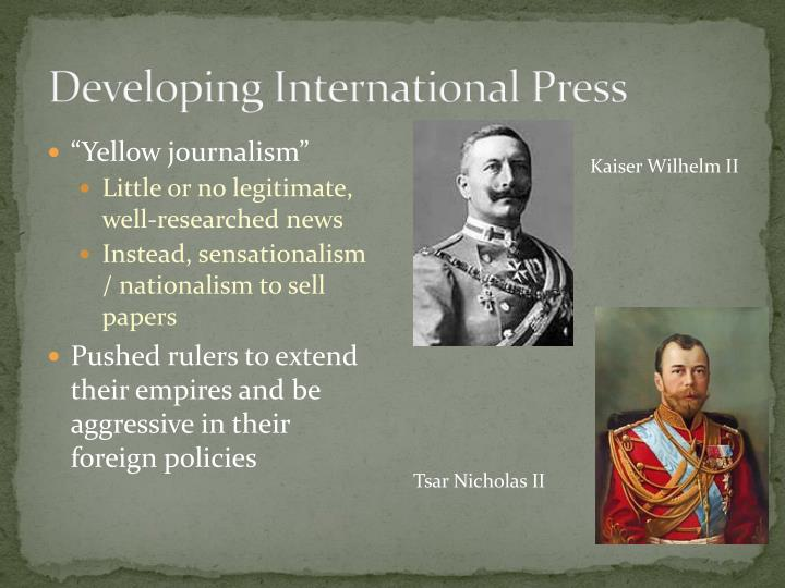 Developing International Press