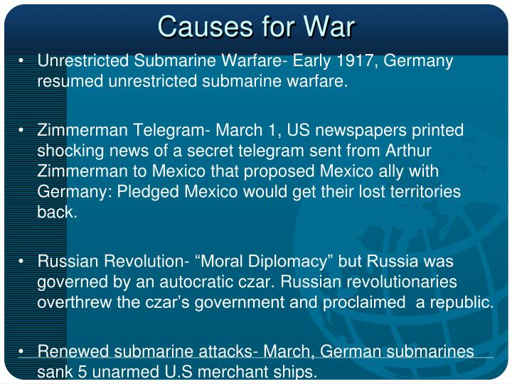 Causes for War