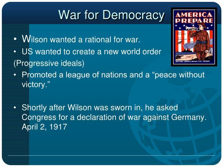 War for Democracy